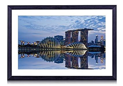 Amazon com: Marina Bay Sands from Singapore - World- #48618