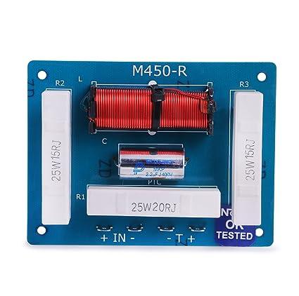 Noor Passive Crossover Network Plates  D350 / D450 : Amazon