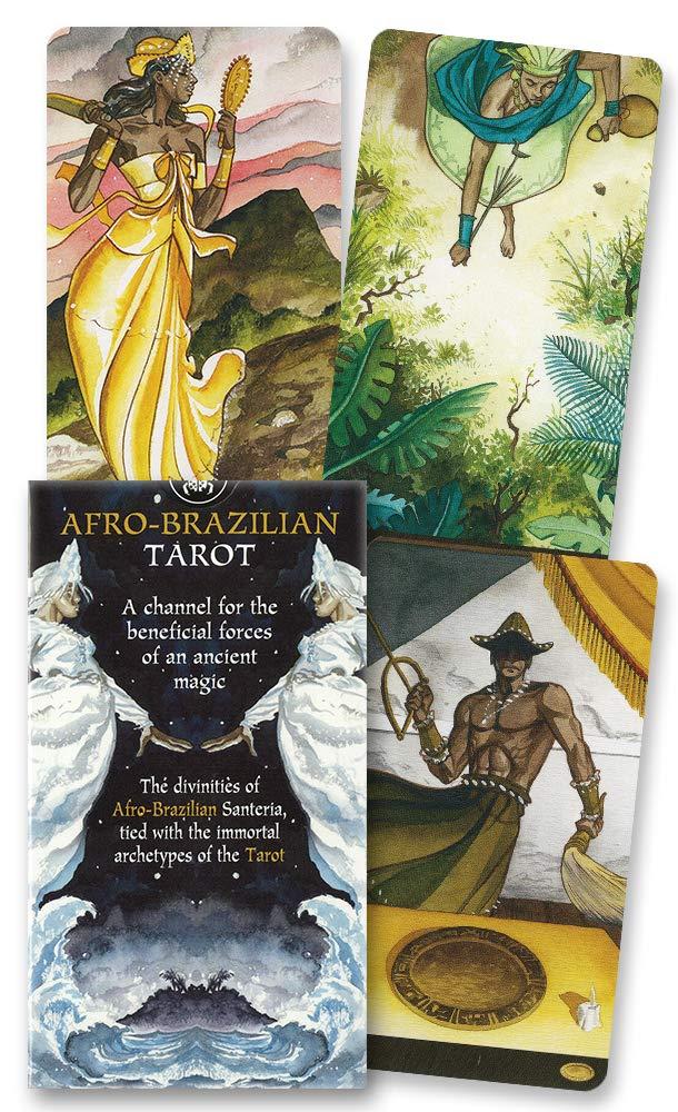 Afro-Brazilian Tarot (English and Spanish Edition): Lo ...