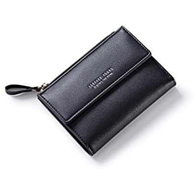 Rising ON Women Zipper Wallet Female Fashion Lady Wallet Short Solid Color Change Purse Hot Female