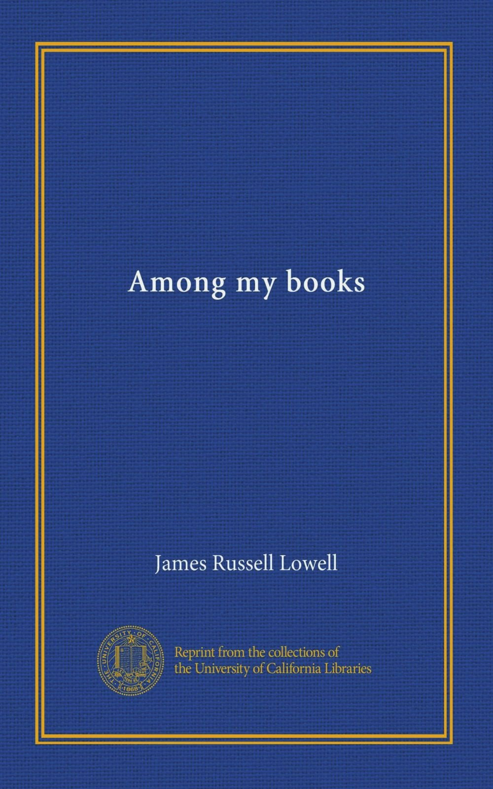 Download Among my books pdf