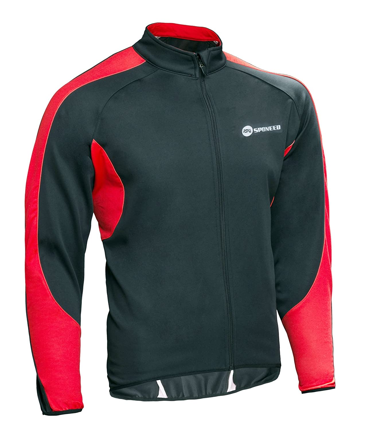 sponeed Mens Wind Jackets Cycling Fleece Coat Shirts Winter Windproof Thermal Bicycle Bike Clothes