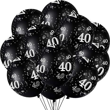 1 Globo Confeti Gigante XXL Confetti Balloon Globo Transparente con Confeti Dorado para Fiesta de Cumplea/ños 50 Globos Oro y Negro Graduacion y A/ño Nuevo