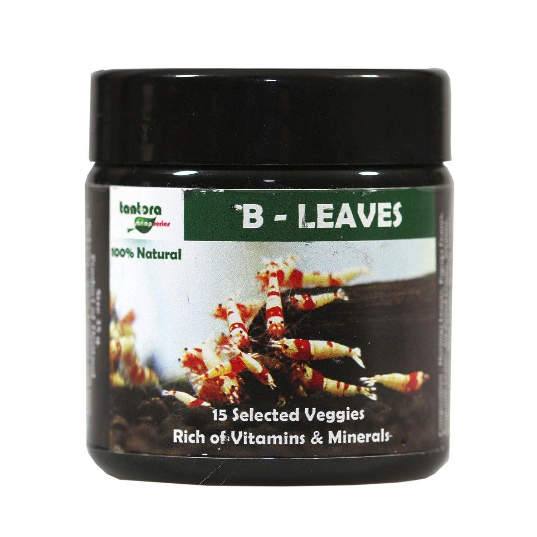 Tantora B-Leaves 35 g Especialmente para gambas enanas de ...