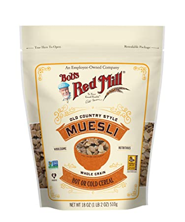 5a40007ee Amazon.com : Bob's Red Mill Resealable Old Country Style Muesli ...