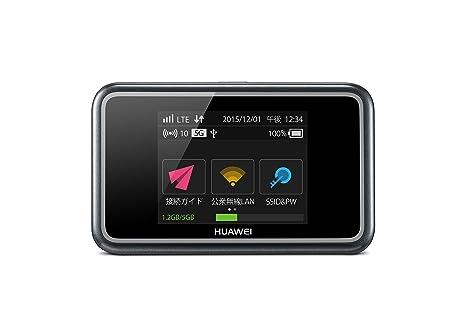 SIMフリーモバイルルーター 無線LANルーター HUAWEI HUAWEI Mobile WiFi E5577S-324