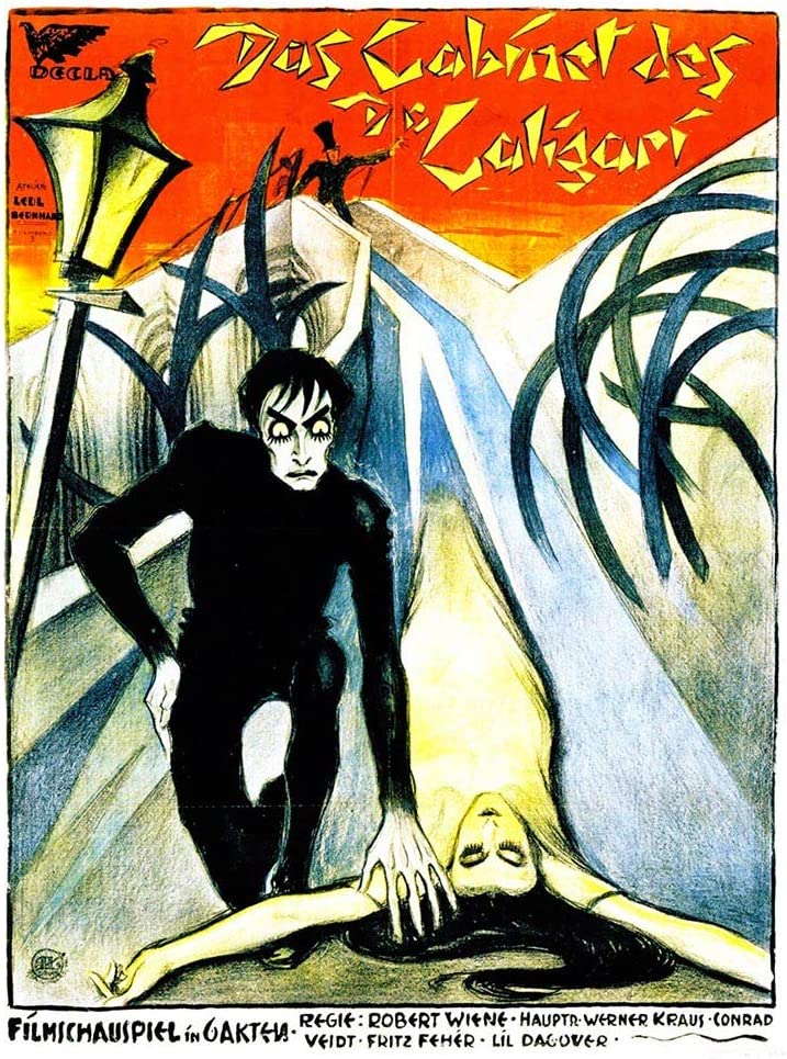 Wee Blue Coo Movie Film Cabinet Doctor Caligari Silent Horror Krauss Germany Unframed Wall Art Print Poster Home Decor Premium