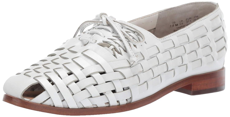 Bright White Leather Sam Edelman Womens Rishel Loafer Flat