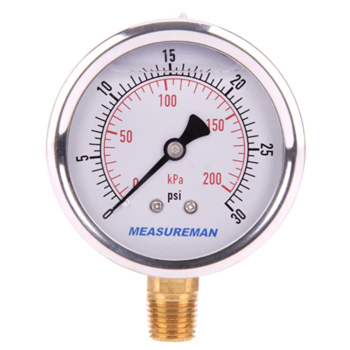 The Best Pressure And Vacuum Pool Pump Gauge