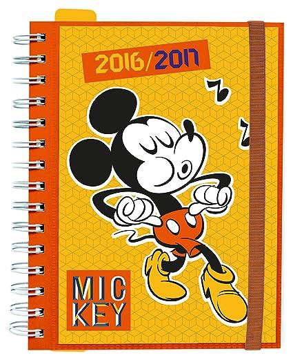 Grupo Erik Editores Disney - Agenda escolar sv 2016/2017, 14.8 x 21 cm