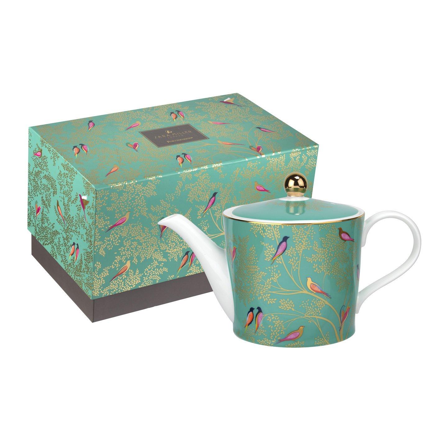 Portmeirion Teapot Green SMC78923-XG