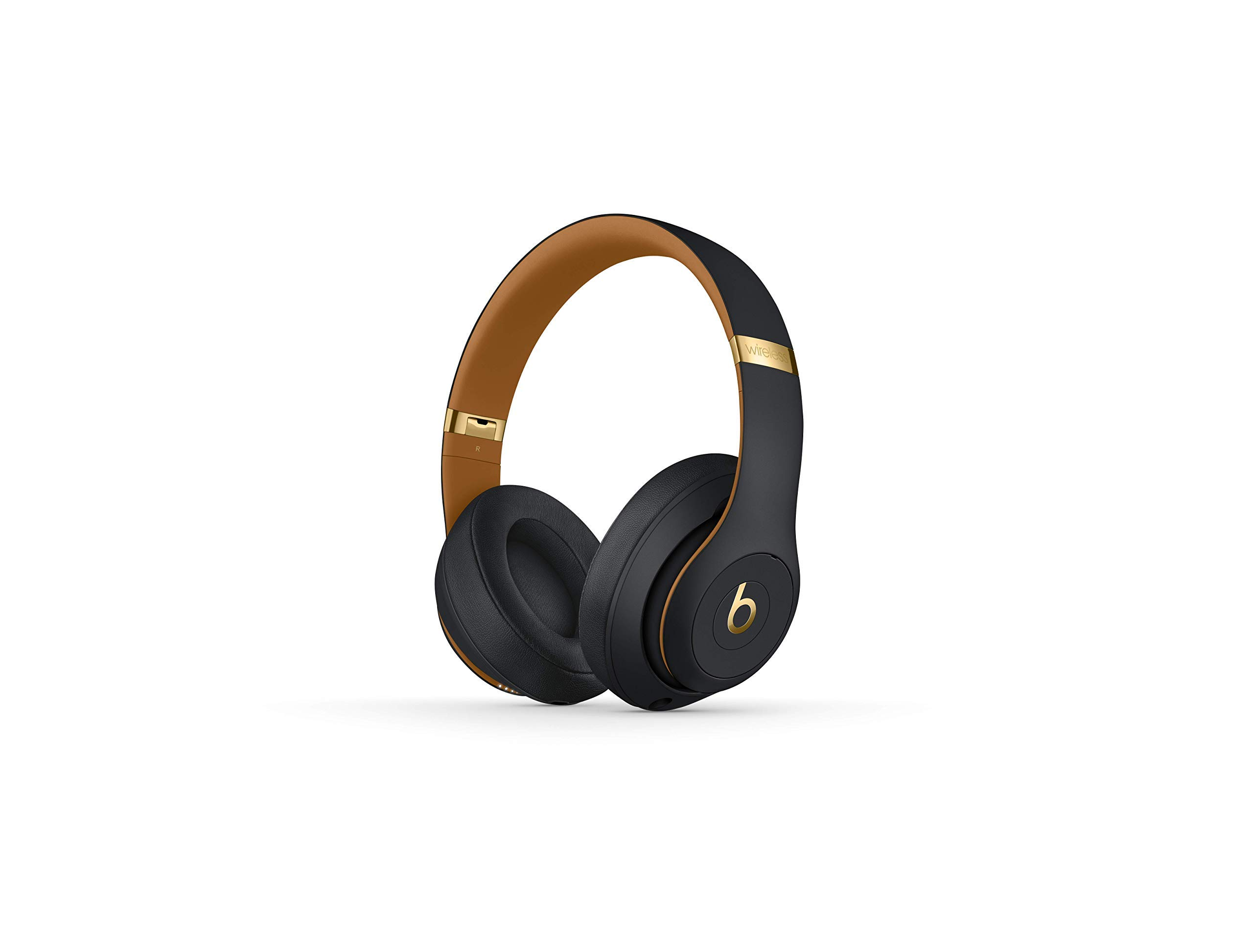 Beats Studio3 Wireless Over-Ear Headphones - The Beats Skyline Collection - Midnight Black (Renewed)