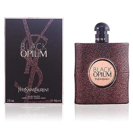 Yves Saint Laurent Black Opium Agua de Colonia - 90 ml: Amazon.es