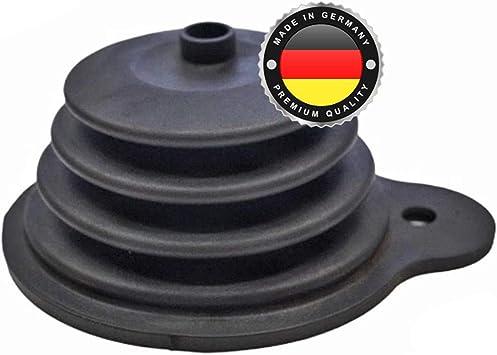 Ws System 2x Universal Faltenbalg Aus Gummi 2 Stk Flexible Dehnbare Achsmanschette Made In Germany Aus Hochwertigem Pvc Schelle In Größe L 22mm 56m Ø 15mm 110mm Auto
