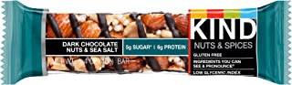 product image for Kind Dark Chocolate Nuts and Sea Salt bar, 1.4 Ounce