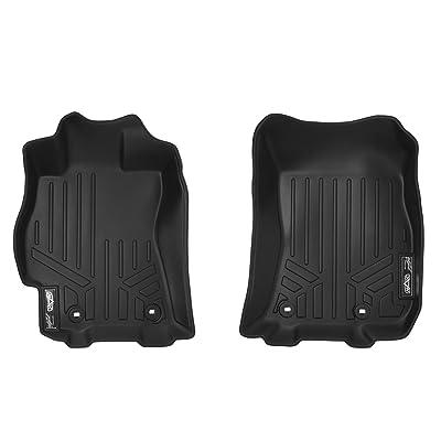 MAXLINER Floor Mats 1st Row Liner Set Black for 2015-2020 Subaru Outback / Legacy: Automotive