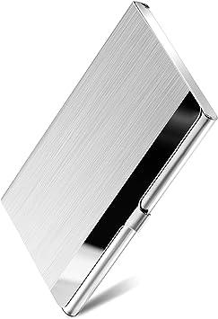 MaxGear Metal Business Card Holder