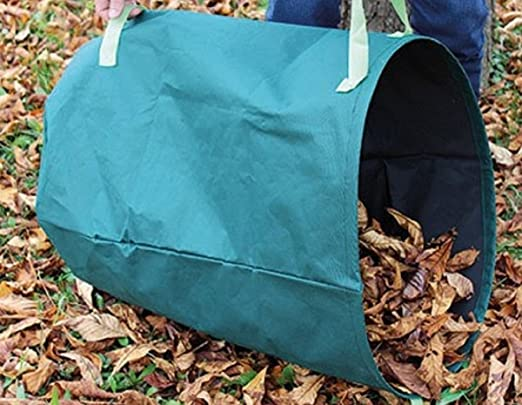 Hojas – Saco de jardín verde bien Saco para residuos de jardín Césped Cortes 240 l): Amazon.es: Jardín
