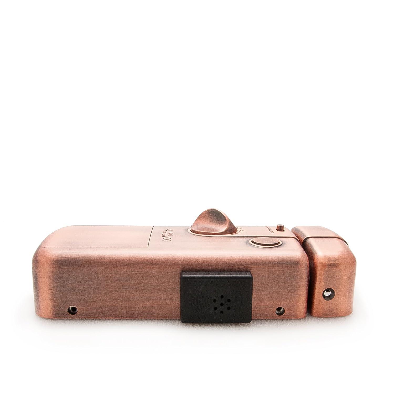 NUEVA Cerradura electronica INTELIGENTE invisible con 3 mandos. Fabricada por SELOCKEY.: Amazon.es: Bricolaje y herramientas