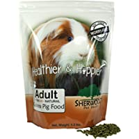 Guinea Pig Food Adult by Sherwood Pet Health 4.5 lb. Timothy Blend (Grain & Soy-Free) - 4.5 lb. (Vet Used)