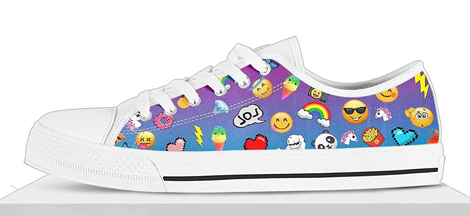 6a40a185dafdc Amazon.com: Girls Emoji Shoes Custom Emoji Shoes, Easter Shoes: Handmade