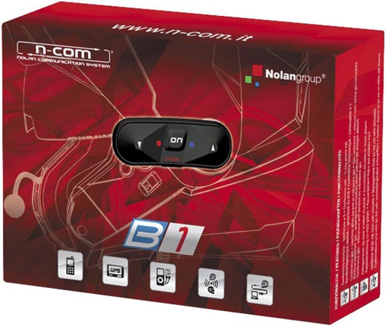 Sistema de comunicación de Nolan N-Com B1.: Amazon.es: Coche y moto
