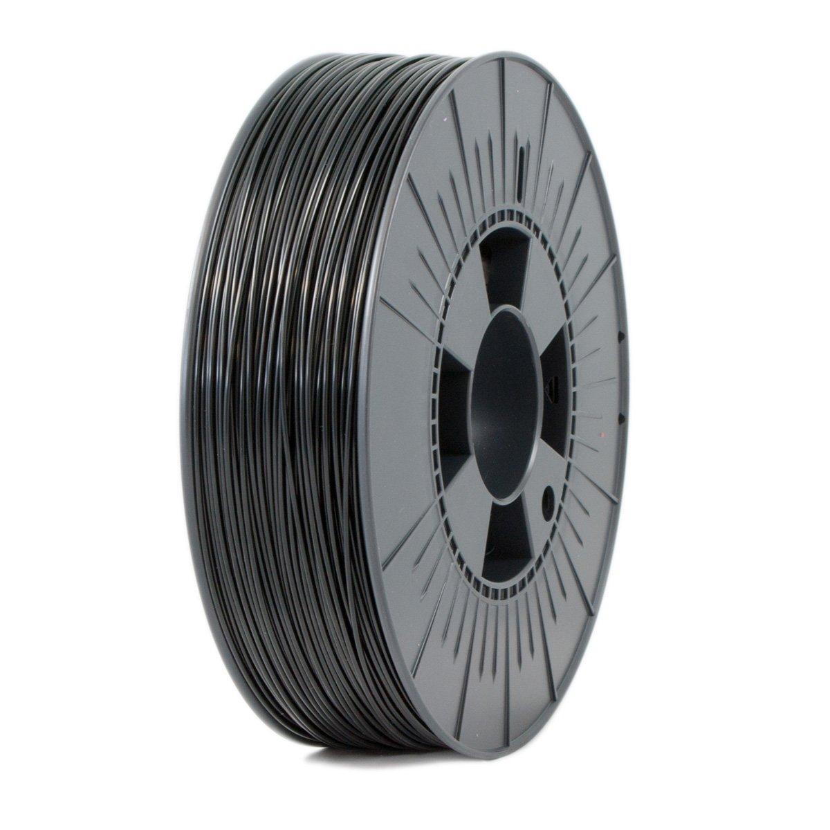 Ice Filaments ICEFIL1PLA003 Filamento PLA, 1,75 mm, 0,75 kg, Negro