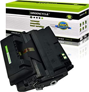 GREENCYCLE 1 PK Compatible Q5942X 42X Black Toner Cartridge Replacement for HP Laserjet 4250 4250dtn 4250dtnsl 4250n 4250tn 4350 4350dtn 4350dtnsl 4350n 4350tn Printer