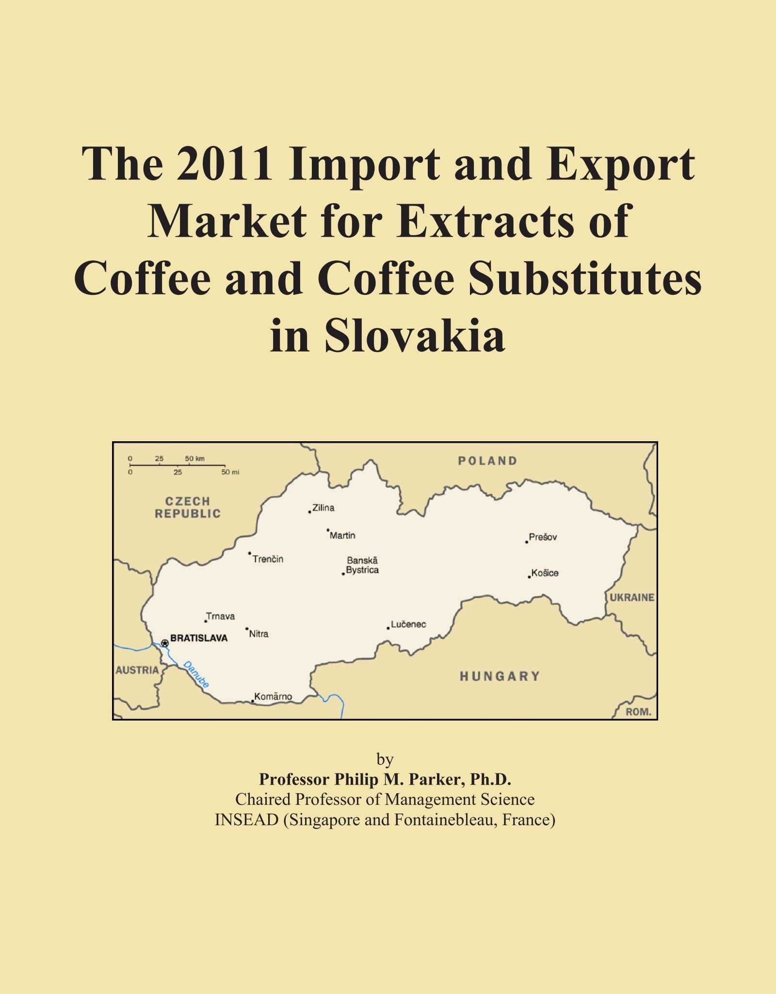 The 2011 Import and Export Market for Extracts of Coffee and Coffee Substitutes in Slovakia pdf