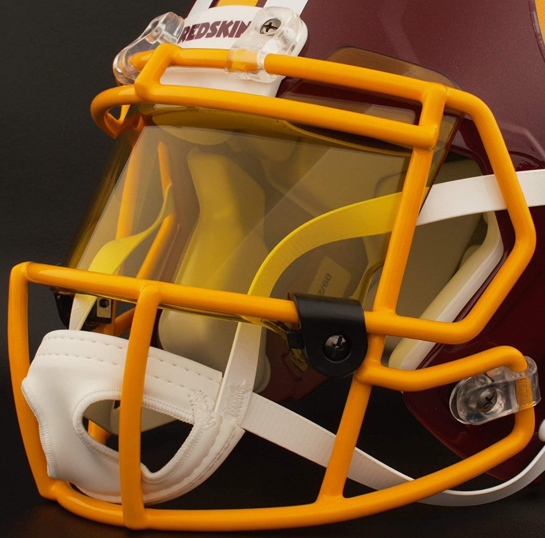 Amazon.com   Riddell Custom Washington Redskins Full Size NFL Speed  Authentic Football Helmet   Sports   Outdoors 8d38eb9df
