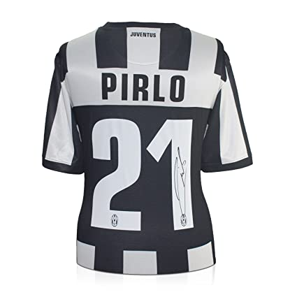 5c219063b Andrea Pirlo Signed 2012-13 Juventus Soccer Jersey at Amazon s ...