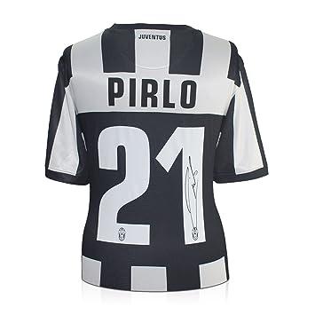 Andrea Pirlo Firmado 2012-13 Camiseta Juventus Fútbol