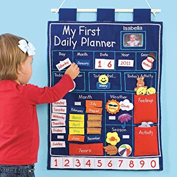 amazon com wall hanging daily planner for kids toys games