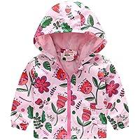 sunnymi - Abrigo protector solar para bebés y niños de 1 a 5 años, para niños pequeños y niñas, con cremallera, con…