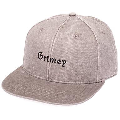 Grimey Gorra HI Jack FW17 Washed Grey-Strapback: Amazon.es: Ropa y accesorios