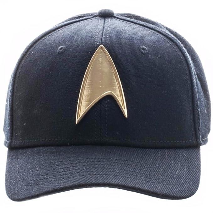 Star Trek Command Metal Symbol Baseball Cap Flexfit Adult Size Hat