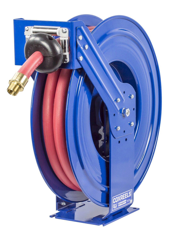 Coxreels TSHF-N-635 Supreme Duty Spring Rewind Hose Reel for fuel: 1'' I.D., 35' fuel hose, 300 PSI