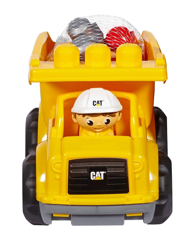 First Builders - Juego de construcción, camión CAT (Mattel CND88): Amazon.es: Juguetes y juegos