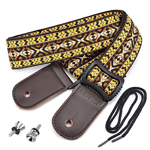 CLOUDMUSIC Hawaii Ethnic Ukulele Strap