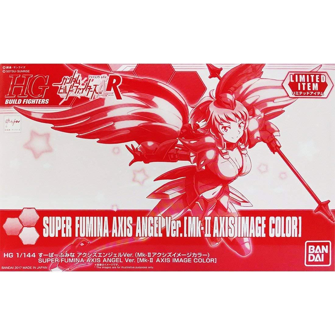 C3 AFA Tokyo 2017 1//144 HGBF Super Fumina Axis Angel Ver. Bandai Hobby 196259 Mk-Ⅱ Axis Image color