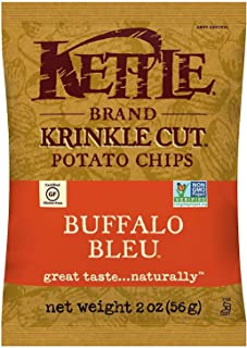 product image for Kettle Brand Krinkle Cut Potato Chips Caddy, Buffalo Bleu, 2-Ounce Bags, 6 Count