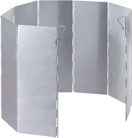 noorsk Plegable Aluminio Protector de Viento para hornillo de ...