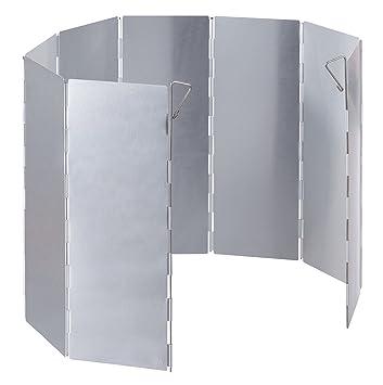noorsk Plegable Aluminio Protector de Viento para hornillo de Gas y pequeños Puntos de Fuego, Aluminio: Amazon.es: Deportes y aire libre