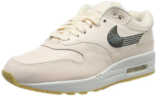 meilleure sélection ddf16 154e3 Nike Air Max 1 PRM Chaussures de Gymnastique Femme: Amazon ...