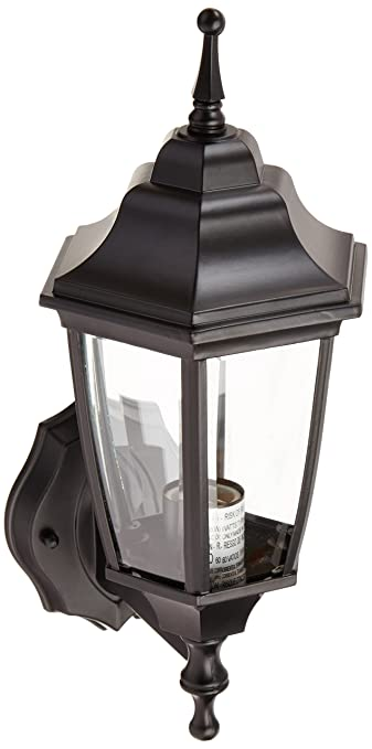 Boston Harbor DTDB Dusk/Dawn Outdoor Lantern, Black
