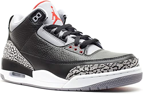 womens Air jordan 3 Amazon.com | Nike Air Jordan 3 Retro Black Cement (136064-010 ...
