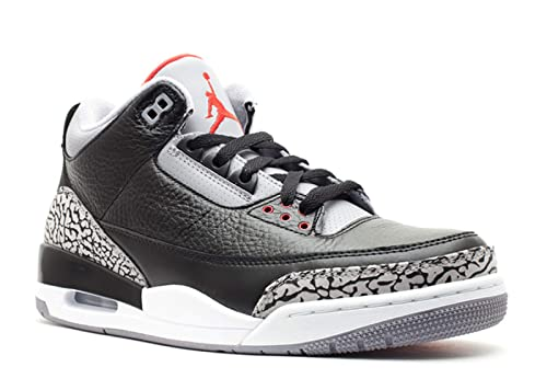 bfaadfef15955 Nike Air Jordan 3 Retro Black Cement (136064-010) (Mens US8.5)