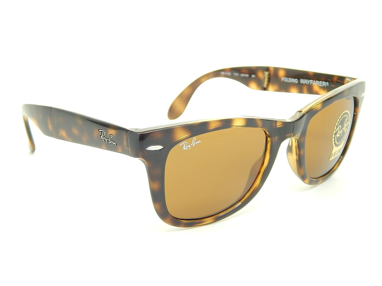 Amazon.com: Ray Ban Folding Wayfarer Rb4105 710 Gafas de sol ...