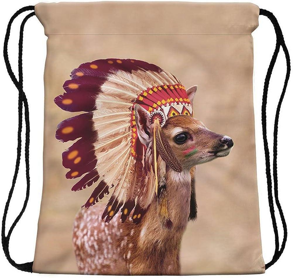 Vin beauty 3D Unicorn Printing Multi Color Rainbow Girl Backpack School Bag Travel Rucksack