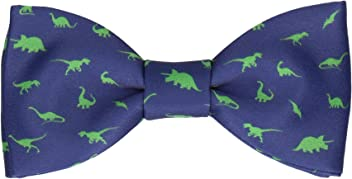 58d7204e23ca Mrs Bow Tie Dinosaurs Quirky Pre Tied, Self Tying Bow Ties